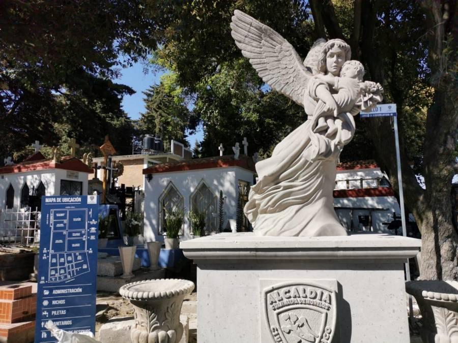 Panteones de Cuajimalpa permanecerán cerrados el 10 de mayo por Covid-19