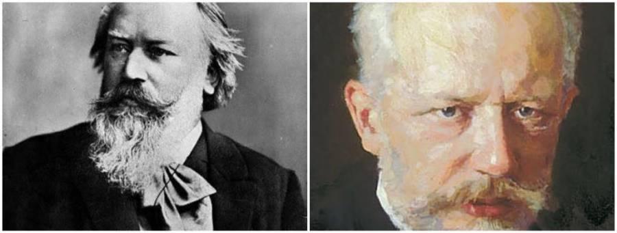 Natalicio conjunto: Brahms y Tchaikovsky