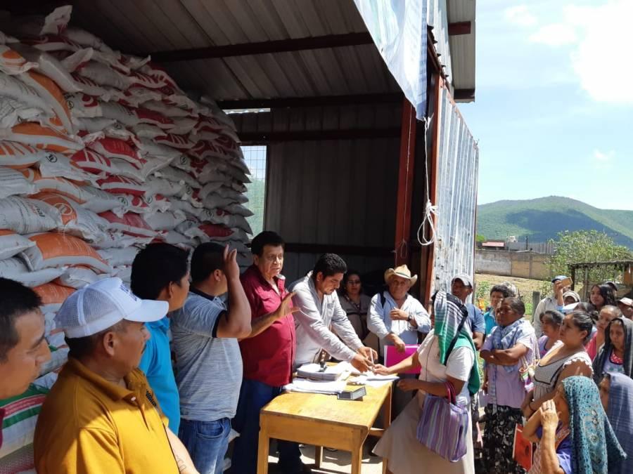 Agricultura facilita trámite para Programa de Fertilizantes en Guerrero