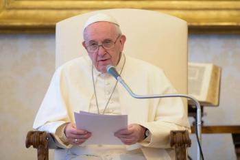El Papa pide oraciones por los artistas por hacer
