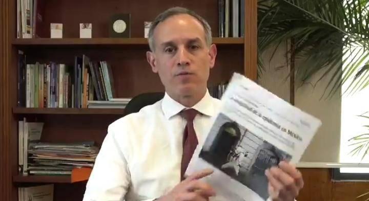 """""""Quisiéramos aclaraciones, no declaraciones"""": periodista del NYT a Gatell"""
