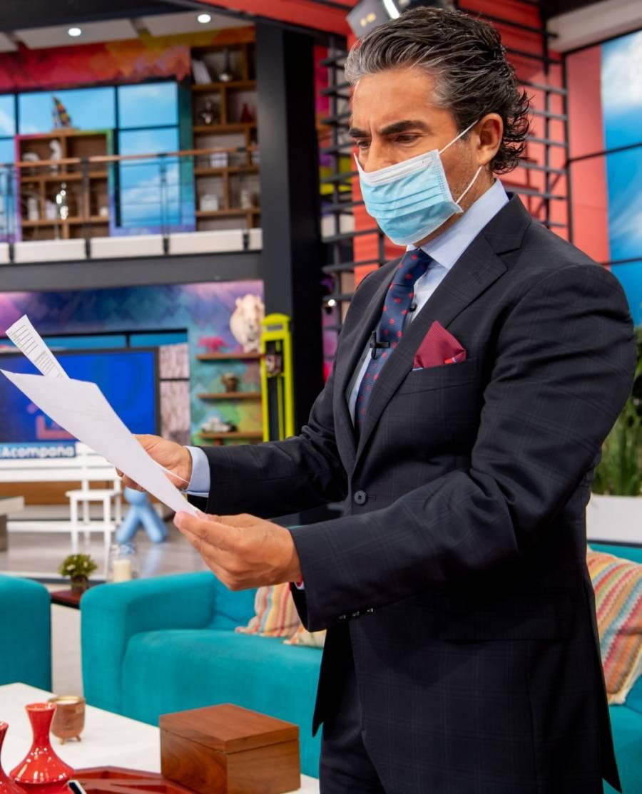 En medio de derrumbe, Covid-19 para telenovelas de Televisa