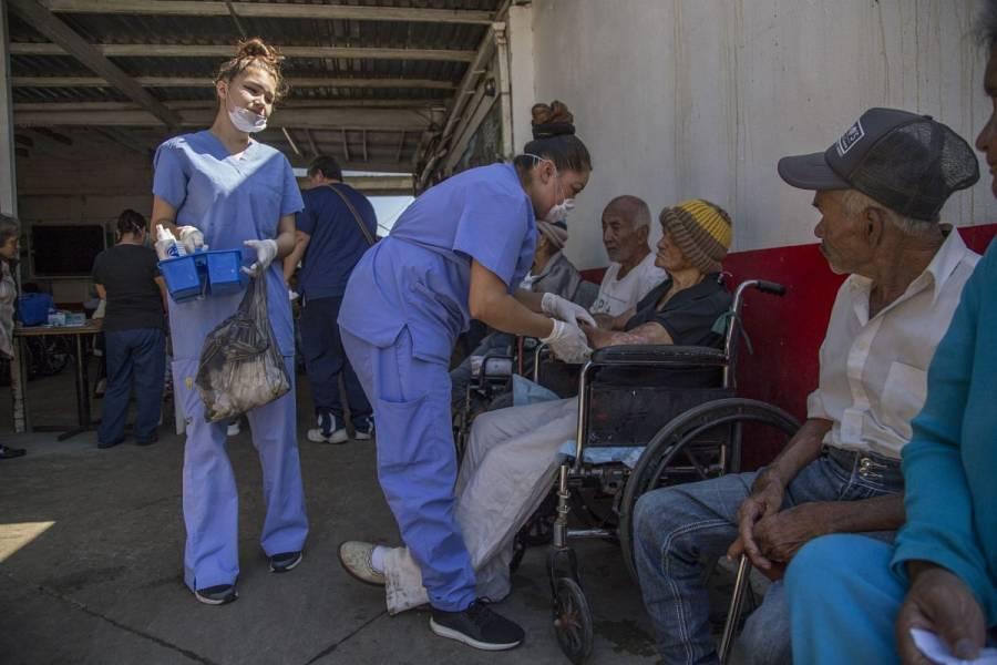 Brote de Covid-19 en asilo de Tabasco deja un muerto y 18 contagios