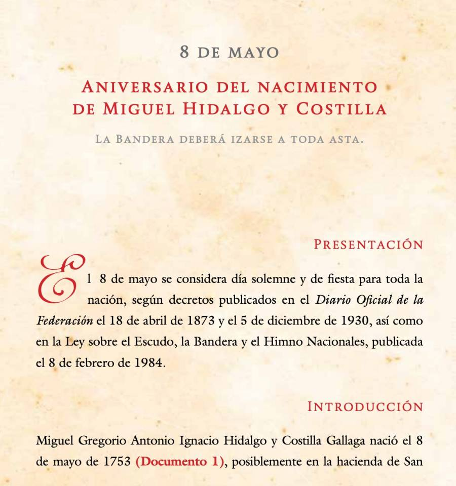 El pasado oculto de Miguel Hidalgo