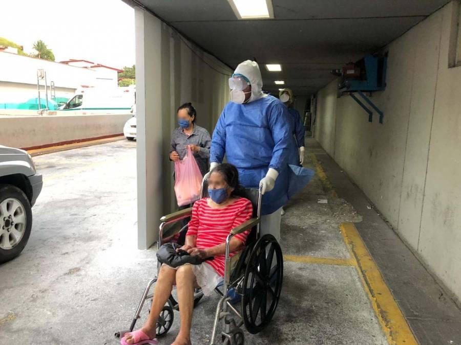 Doña María, de 89 años,venció al coronavirus