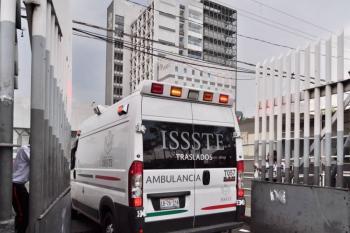 ISSSTE confirma renta de camión refrigerante para cadáveres