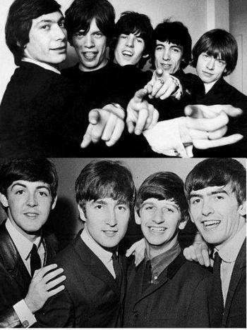Beatles vs Stones el gran debate del rock
