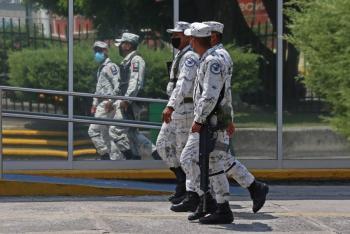 Guardia Nacional detiene a estadounidense que trasladaba cartuchos útiles y granadas