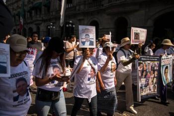 Madres de desaparecidos piden a las autoridades seguir la búsqueda de sus hijos