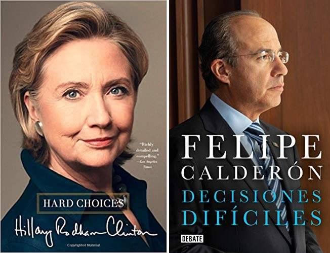 Acusan de plagio a Felipe Calderón y Margarita Zavala por sus libros