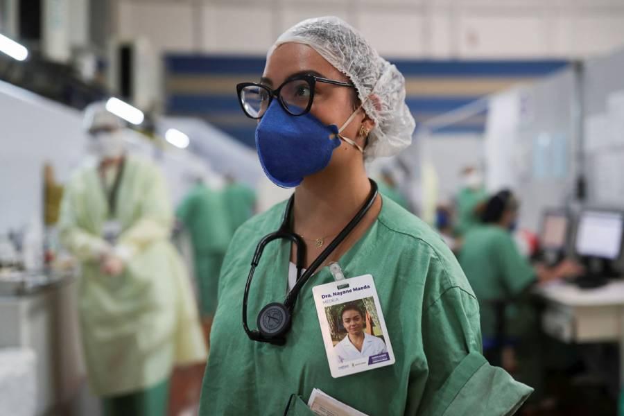 Al menos 90 mil trabajadores de la salud, infectados con Covid-19 en el mundo