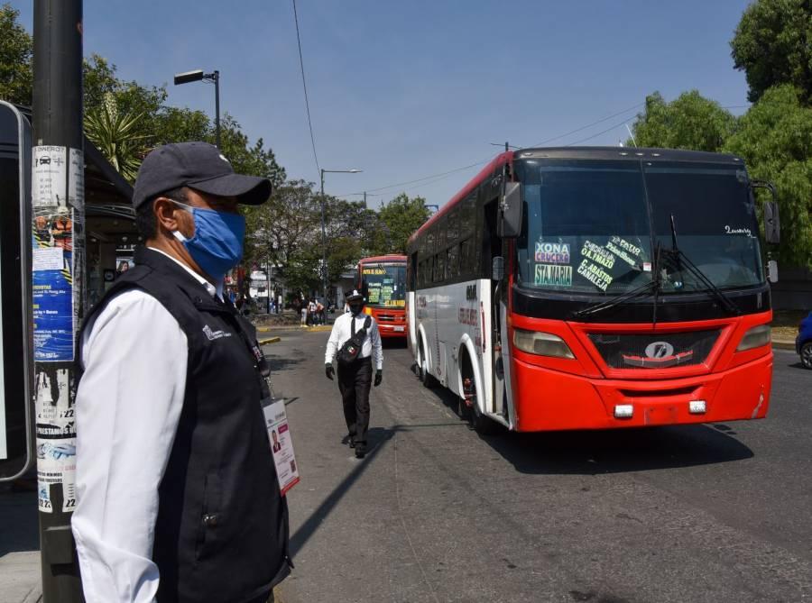 Ponen en marcha transporte gratuito para personal de salud en Mérida