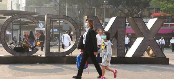 1 de cada 3 casos de Covid-19 en México se da en la capital