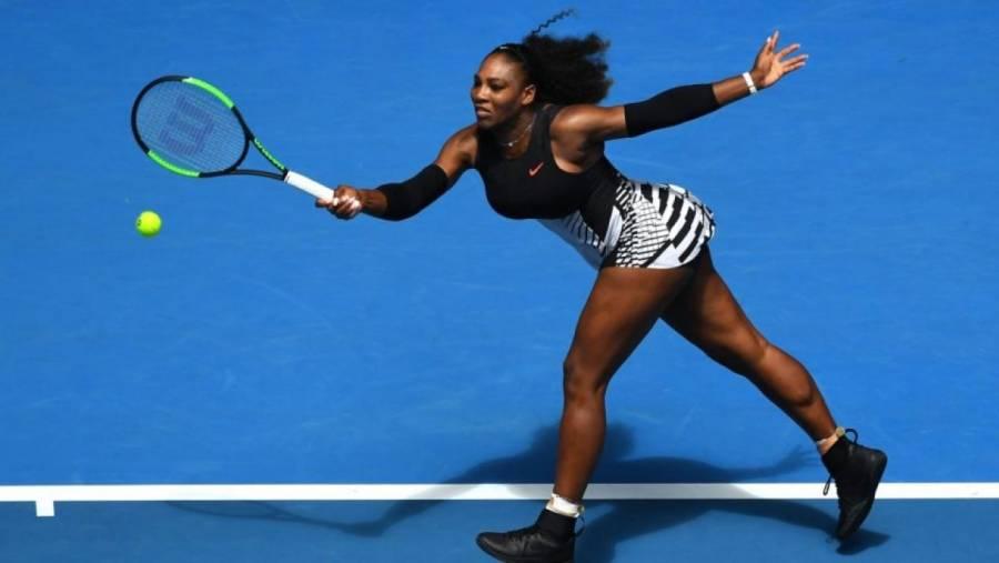 Última hazaña de una madre deportista pertenece a Serena Williams