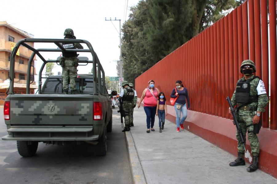 Ejército seguirá en las calles hasta 2024