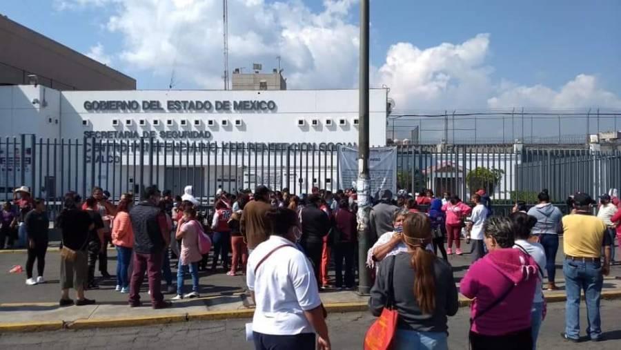Se registra riña en penal de Huitzilzingo en Chalco
