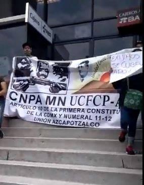Exigen comerciantes de Azcapotzalco, los 5 mil pesos prometidos de parte del Alcalde.