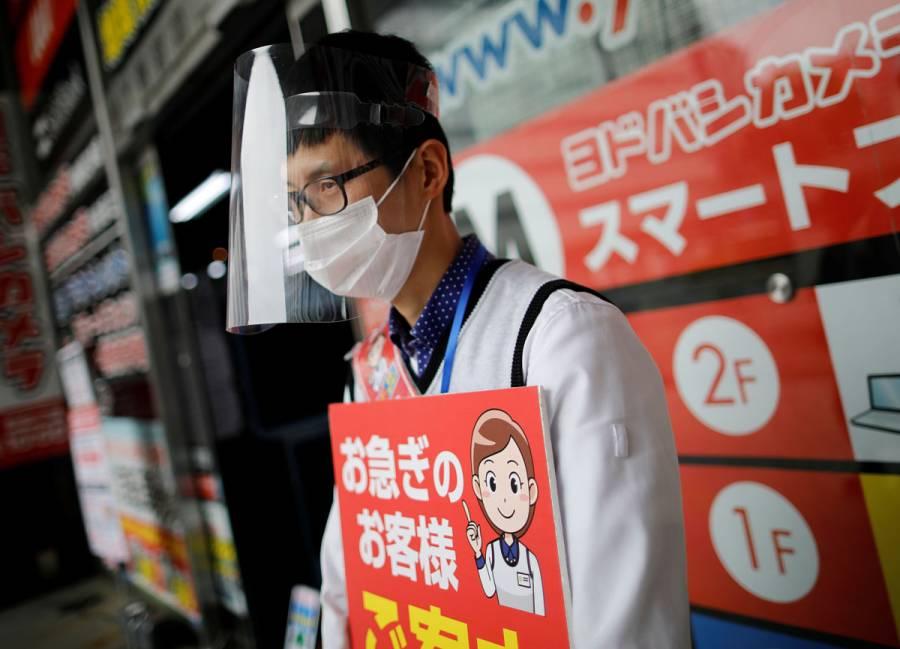 Japón acumula 16 mil casos confirmados de Covid-19