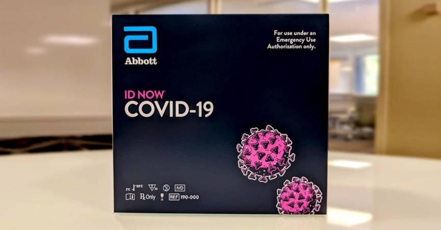 Prueba Abbott para detectar Covid-19, estaría omitiendo la mitad de casos positivos