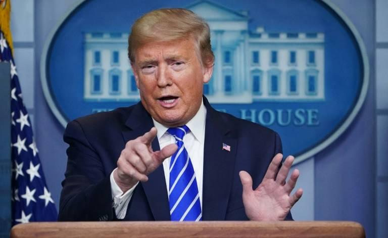 Tratar con China es algo muy caro, dice Donald Trump al referirse al Covid-19