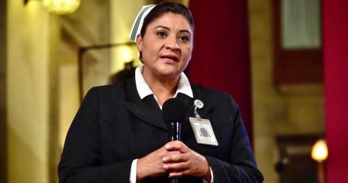 En Día de Enfermeras, Jefa Fabiana da positivo a coronavirus