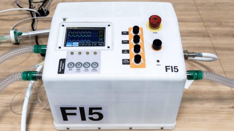Ferrari presenta nuevo ventilador para pacientes con Covid-19