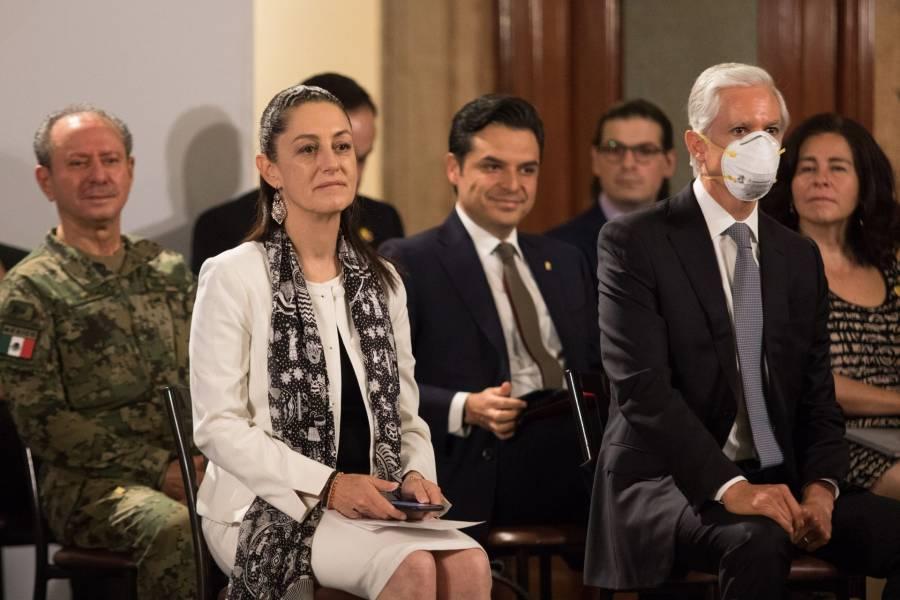 """CDMX y Edoméx trabajarán de la mano en el retorno a la """"nueva normalidad"""