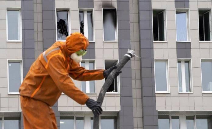 Respiradores ocasionan incendios en Rusia