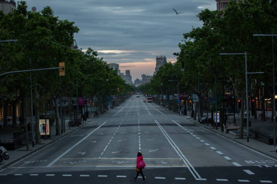 En Barcelona, lanzan campaña #RecuperemosLaCiudad