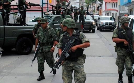 PRD denuncia que la militarización del Estado es ilegal