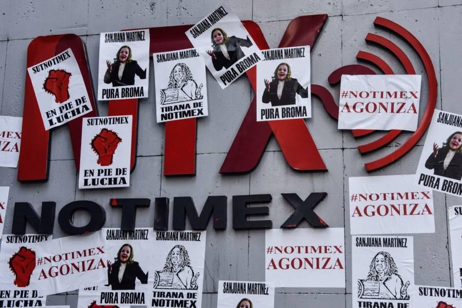 Sanjuana Martínez no tiene intención de resolver huelga en Notimex