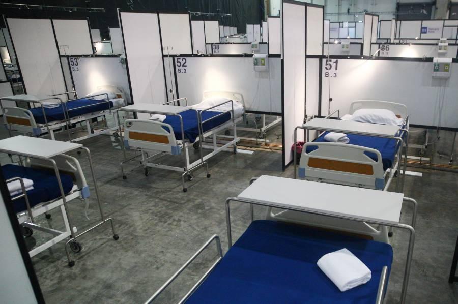 Solo tres hospitales tienen disponibilidad de camas en la CDMX