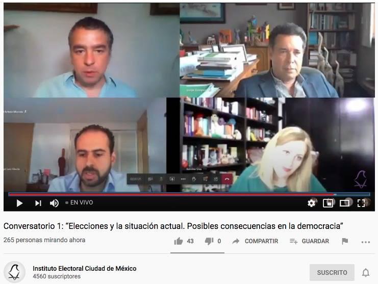 Posponer los procesos democráticos tiene límites: IECM