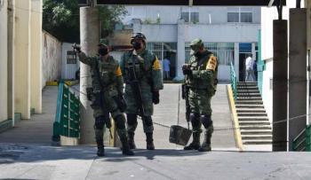 PIDEN PROTECCIÓN MILITAR PARA PERIÓDICO REFORMA