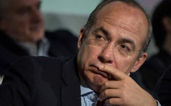 Calderón acusa a AMLO de atizar odio contra Reforma