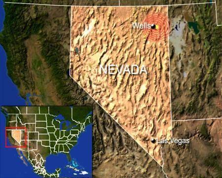 Potente sismo de 6.4 en Nevada, Estados Unidos