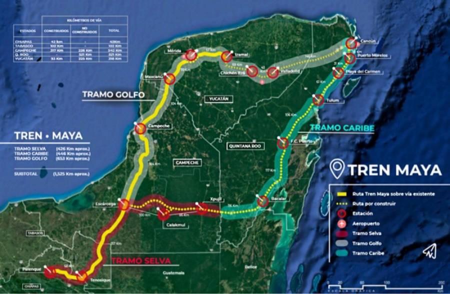 CNDH recomienda parar labores no esenciales en Tren Maya