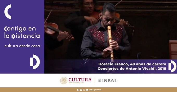Secretaría de Cultura e INBAL festejan a maestr@s con música, checa los detalles