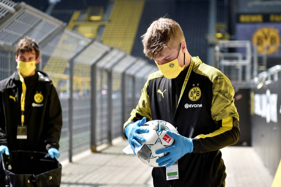 Las imágenes del regreso de la Bundesliga en medio de la pandemia por Covid-19
