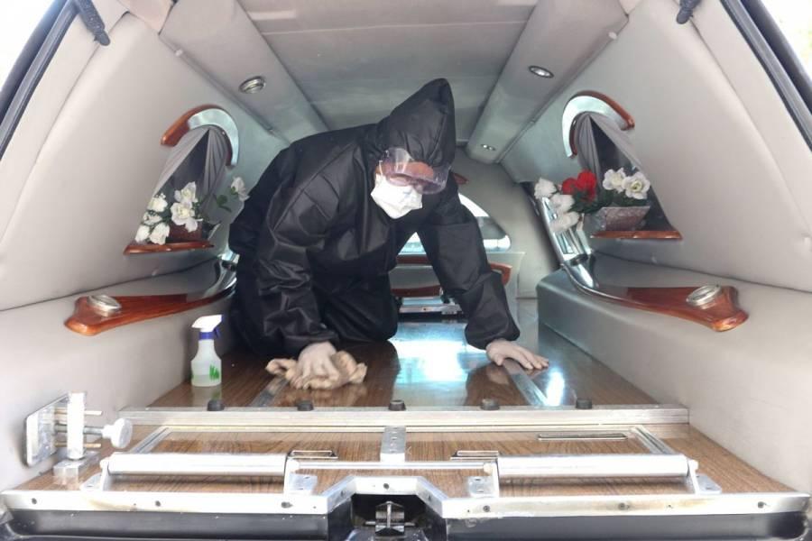 Demanda de servicios funerarios sube a 100% en norte del país