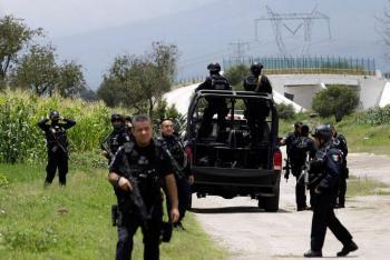 Caen en Puebla a dos presuntos integrantes del Cártel de Sinaloa