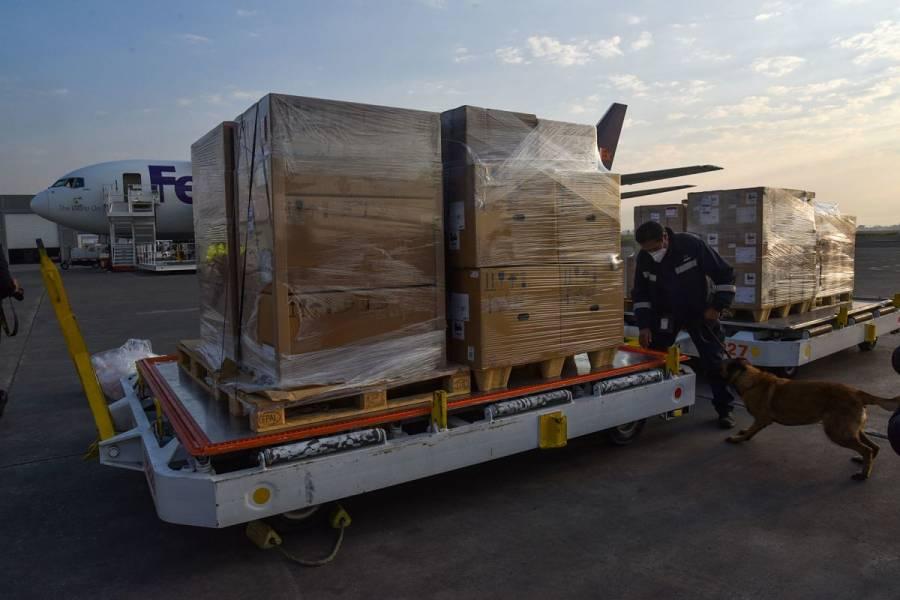 Recibirá México 288 ventiladores y 300 mil pruebas PCR: Ebrard