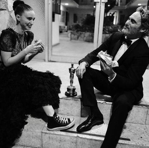 Joaquin Phoenix y Rooney Mara esperan bebé