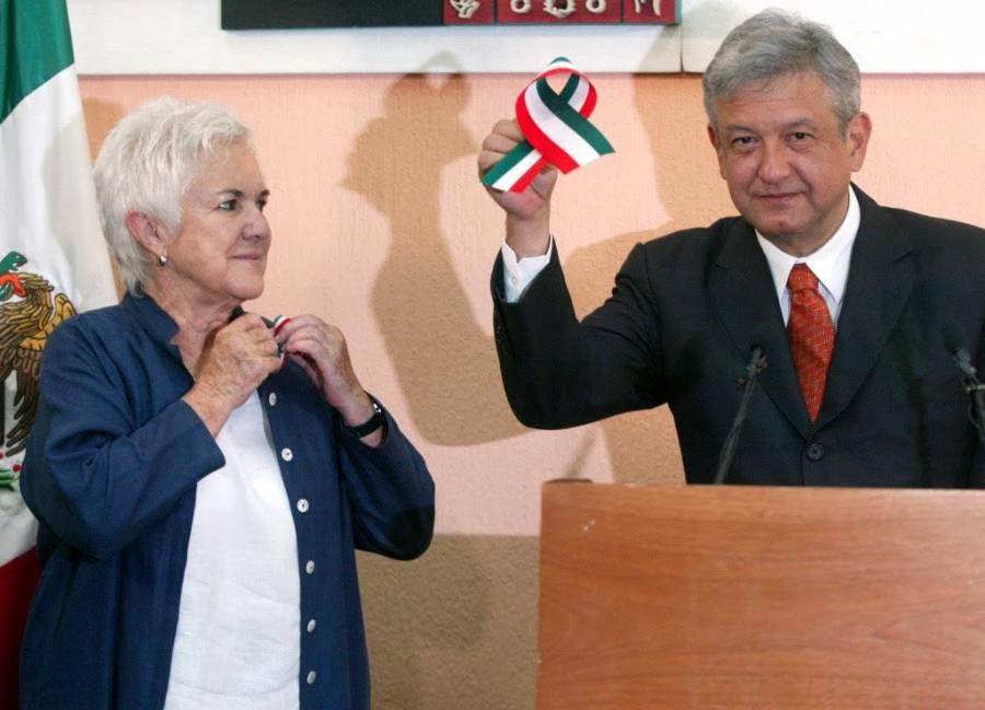 """Fallece Bertha """"La Chaneca"""" Maldonado, AMLO da condolencias a familiares"""