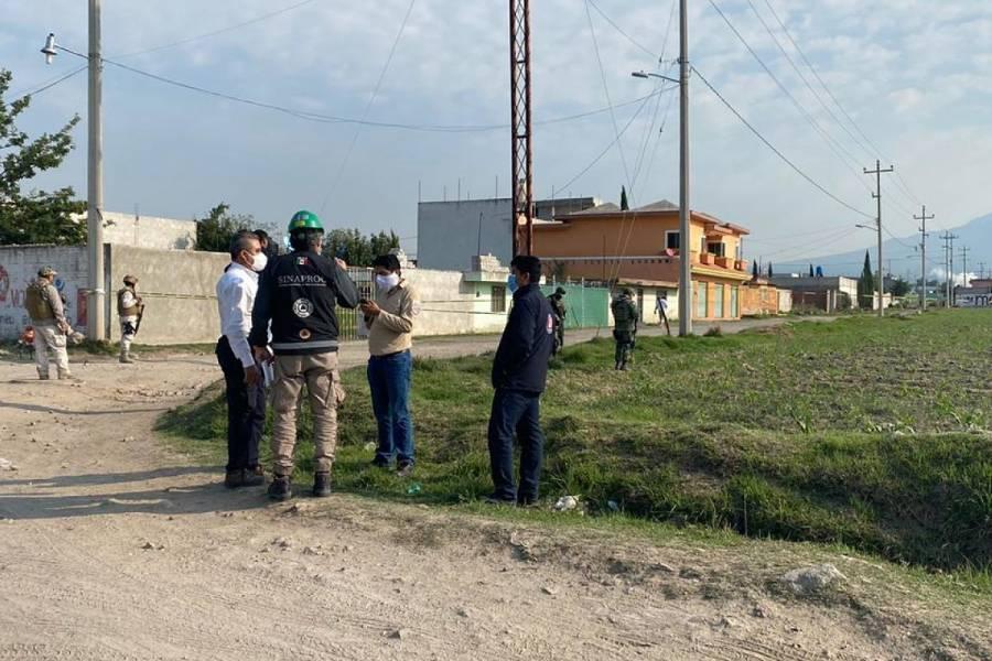 Desalojan a mil personas por fuga de gas en Amozoc, Puebla [Video]