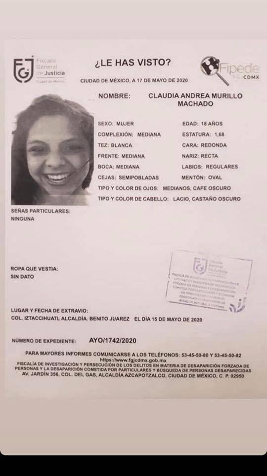 ¿Has visto a Claudia Andrea?