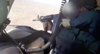 Grupo delictivo intenta derribar helicópteros policiaco en Sonora