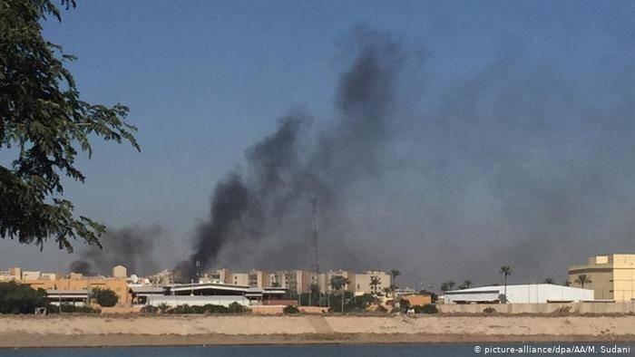 Cerca de la embajada de EE UU en Irak cae un cohete