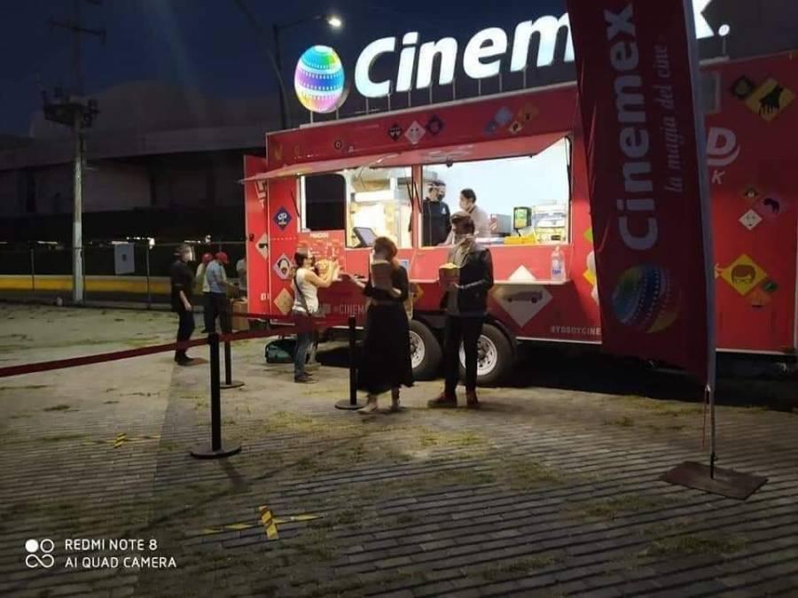 Cinemex instala Autocine en Guadalajara