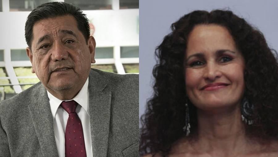 Piden licencia senadores de Morena Félix Salgado y Susana Harp